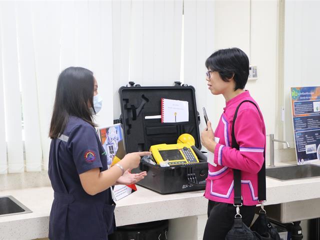 รับการตรวจเยี่ยมการดำเนินการของหลักสูตรวิทยาศาสตรบัณฑิต,สาขาวิชาอาชีวอนามัยและความปลอดภัย,จากกรมสวัสดิการและคุ้มครองแรงงานกรมสวัสดิการและคุ้มครองแรงงาน