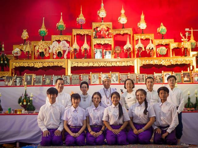 สาขาวิชาศิลปะการแสดง,ได้จัดพิธีไหว้ครูและครอบครูนาฏศิลป์ไทย,ประจำปีการศึกษา,2562,