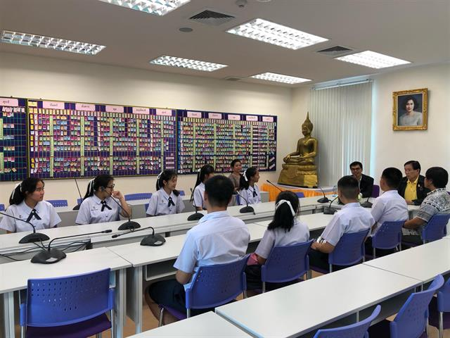 โรงเรียนสาธิตม.พะเยาเข้าร่วมโครงการพัฒนาศักยภาพผู้นำเยาวชนรุ่นใหม่ใส่ใจท้องถิ่น