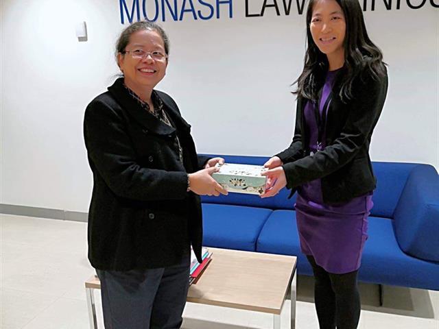 คณะนิติศาสตร์,เข้าศึกษาดูงาน,Monash,Law,Clinics,ที่,Monash,University,ประเทศออสเตรเลีย