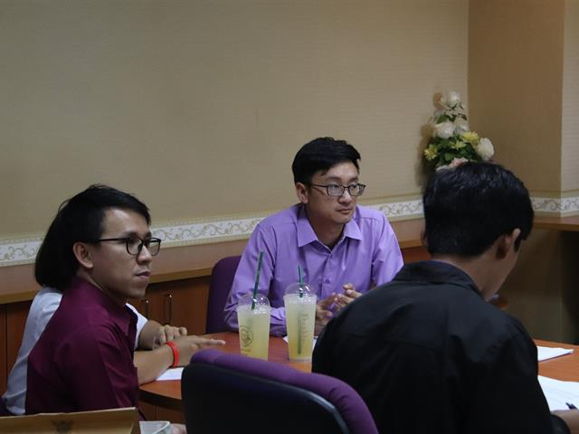 มหาวิทยาลัยพะเยาร่วมประชุมหารือกับมูลนิธิรากแก้ว