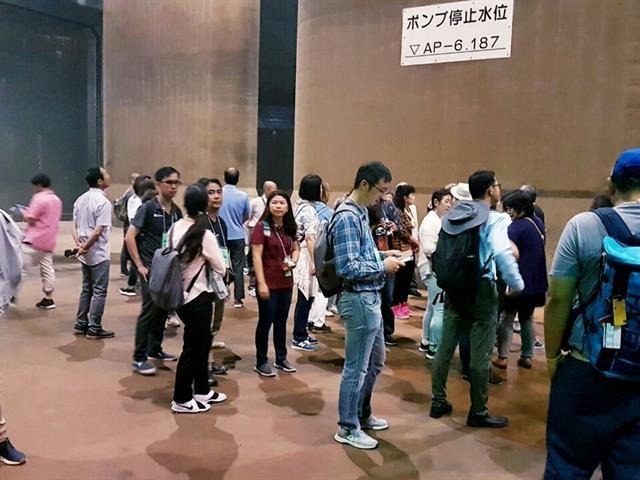 นักวิจัย,SEEN,เข้าร่วมโครงการศึกษาดูงานเกี่ยวกับการบริหารจัดการน้ำ,ณ,เมืองโตเกียว,ประเทศญี่ปุ่น