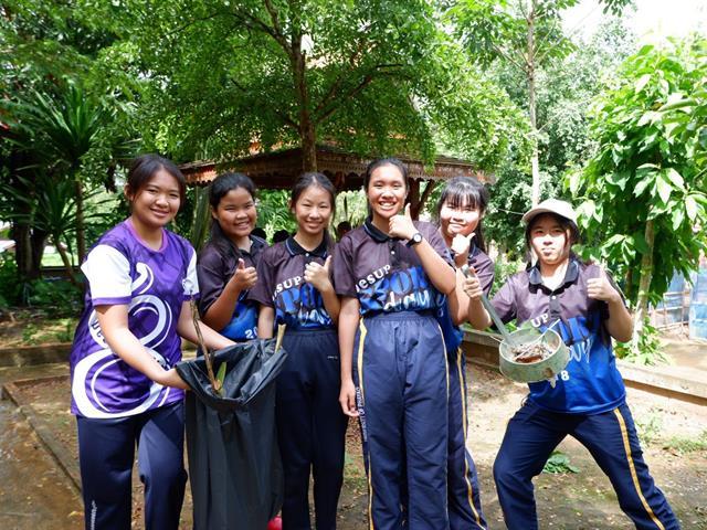 โรงเรียนสาธิตม.พะเยา,ดำเนินกิจกรรมจิตอาสาเรียนรู้วิถีชุมชน,ประจำปี,2562