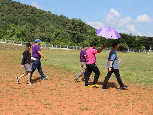 รองอธิการบดีฝ่ายคุณภาพนิสิต,นำทีมผู้บริหารและบุคลากรกองพัฒนาคุณภาพนิสิตและนิสิตพิการลงพื้นที่เยี่ยมชมสนามกีฬากลาง,มหาวิทยาลัยพะเยา,เพื่อเตรียมความพร้อมการแข่งขันกีฬามหาวิทยาลัยแห่งประเทศไทย,ครั้งที่,47,รอบคัดเลือก,เขตภาคเหนือ,ครั้งที่,1/2562