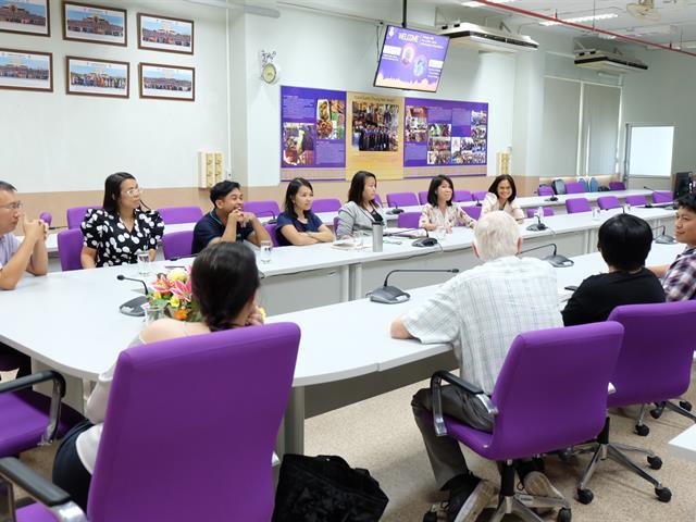อาจารย์คณะวิทยาศาสตร์,เข้าร่วมแลกเปลี่ยนเรียนรู้งานวิจัยกับทางด้านสาขาวิชาเคมี,กับ,Prof.Dr.Gary,Christian,Editors,in,Chief,,Talanta,University,of,Washington,USA,และ,Dr.Woi,pei,meng,,,University,of,Malaya