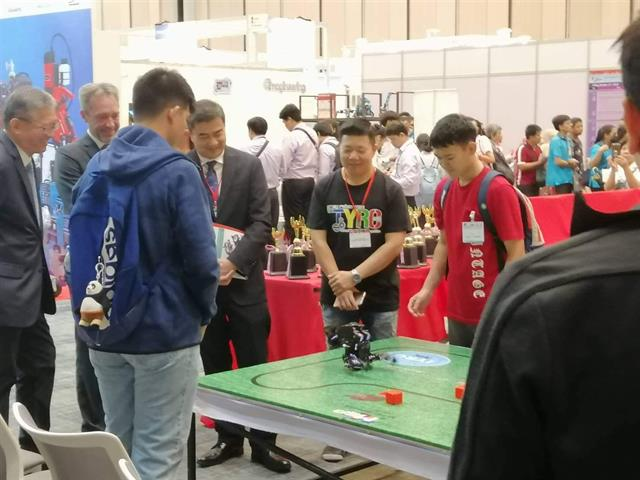 นักเรียนโรงเรียนสาธิตม.พะเยา,เข้าร่วมการแข่งขันหุ่นยนต์,Asia,Didac,Robotic,Competition,2019