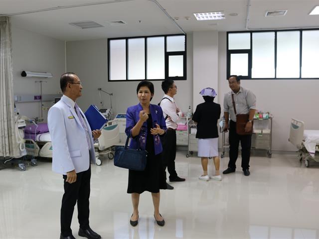 โรงพยาบาลม.พะเยาร่วมปรึกษาหารือกับโรงพยาบาลพะเยา,เพื่อวางแผนการดำเนินงานให้บริการรักษาพยาบาลร่วมกัน