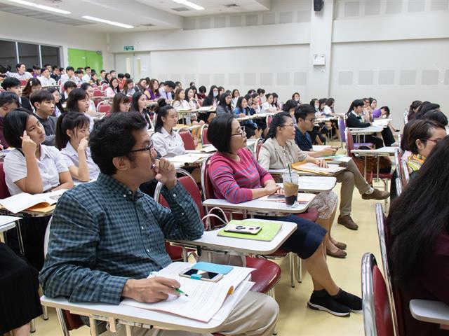 สาขาวิชาภาษาอังกฤษ,คณะศิลปศาสตร์,จัดโครงการปฐมนิเทศและปัจฉิมนิเทศนิสิตฝึกงานและสหกิจศึกษา