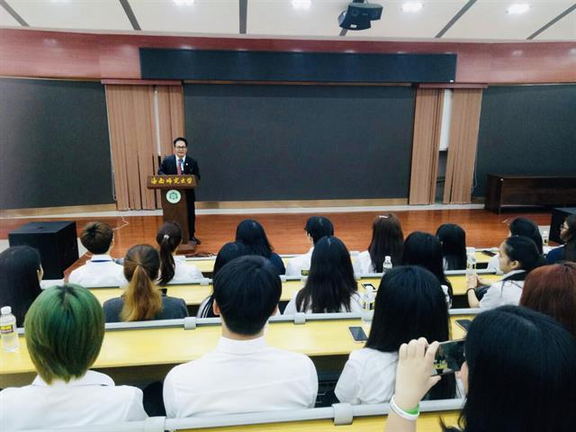 มหาวิทยาลัยพะเยา,ร่วมงานฉลอง,70,ปี,ของ,Hainan,Normal,University,ประเทศจีน