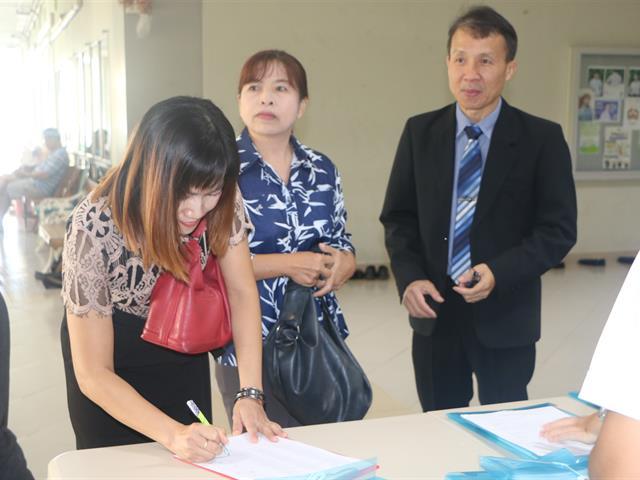 สาขาวิชาอนามัยชุมชน จัดอบรมครูพี่เลี้ยงประจำแหล่งฝึก