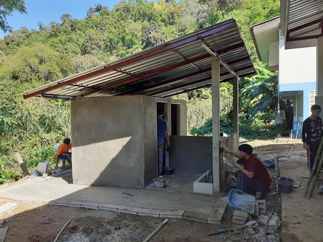 สาขาสถาปัตยกรรม ม.พะเยา จัดโครงการอาสาพาน้องสร้าง ครั้งที่ 5
