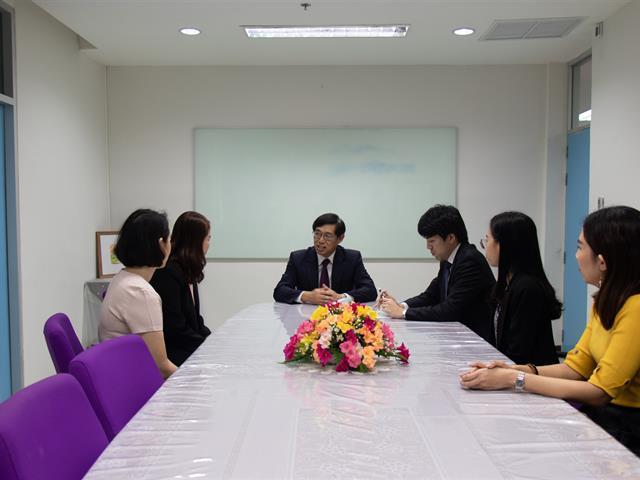 คณะศิลปศาสตร์ให้การต้อนรับท่านกงสุลใหญ่ญี่ปุ่นประจำจังหวัดเชียงใหม่