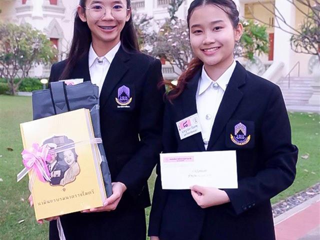 """นิสิตสาขาวิชาภาษาไทย คณะศิลปศาสตร์ ได้รับรางวัลชมเชยระดับประเทศ  ในการประกวดสุนทรพจน์อุดมศึกษา """"เฉลิมพระเกียรติพระบรมราชจักรีวงศ์ ครั้งที่ ๒"""" ประจำปี ๒๕๖๒"""