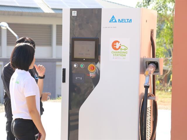 มหาวิทยาลัยพะเยา นำร่องเปิดสถานีอัดประจุไฟฟ้าแห่งแรกของภาคเหนือ พร้อมเปิดให้ประชาชนใช้งาน