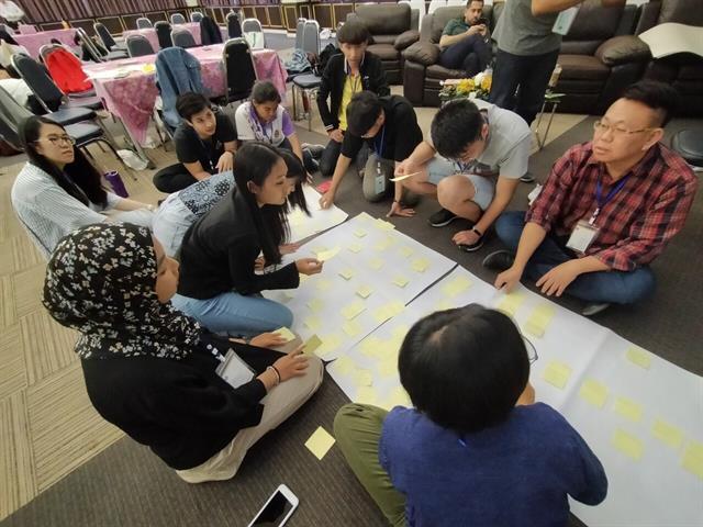 Design Thinking  นานาชาติ วิทยาศาสตร์เครื่องสำอาง คณะเภสัชศาสตร์ มหาวิทยาลัยพะเยา
