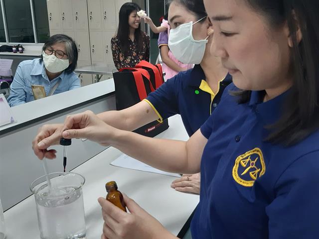 """บุคลากรคณะนิติศาสตร์ เข้าร่วมworkshop """"การเตรียมแอลกอฮอล์สำหรับใช้ล้างมือ เพื่อป้องกันโรคไวรัสโควิด19"""""""