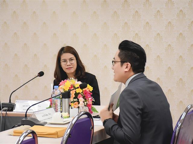 คณะศิลปศาสตร์ ให้การต้อนรับ ผู้อำนวยการศูนย์บริการการสอบภาษาจีนแห่งอาเซียน (ประเทศไทย)