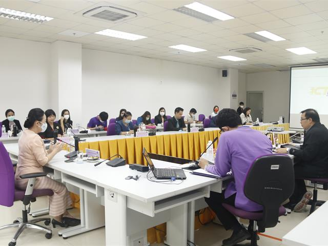 กิจกรรมผู้บริหารมหาวิทยาลัยพะเยาพบบุคลากรคณะ ICT