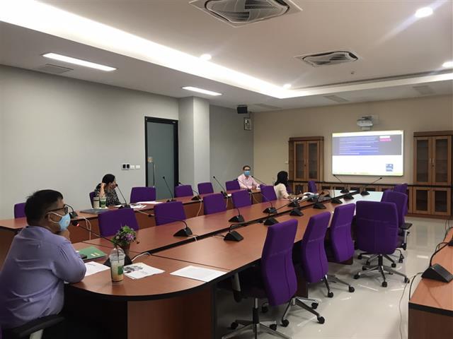 การประชุมคณะกรรมการประจำมหาวิทยาลัยพะเยา วิทยาเขตเชียงราย