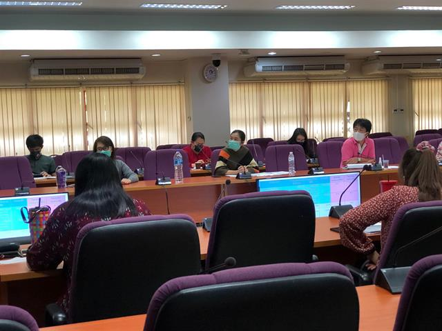 ประชุมกองบริหารงานวิจัย