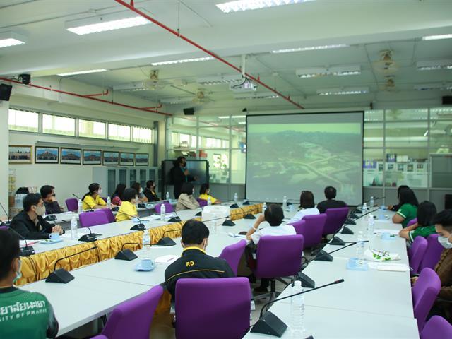คณะเกษตรศาสตร์และทรัพยากรธรรมชาติ ม.พะเยา ร่วมกับศูนย์เทคโนโลยีเกษตรและนวัตกรรม (AIC) จังหวัดพะเยา เปิดการประชุมศูนย์ขับเคลื่อนเทคโนโลยีเกษตรและนวัตกรรม (Agritech and Innovation Center : AIC)