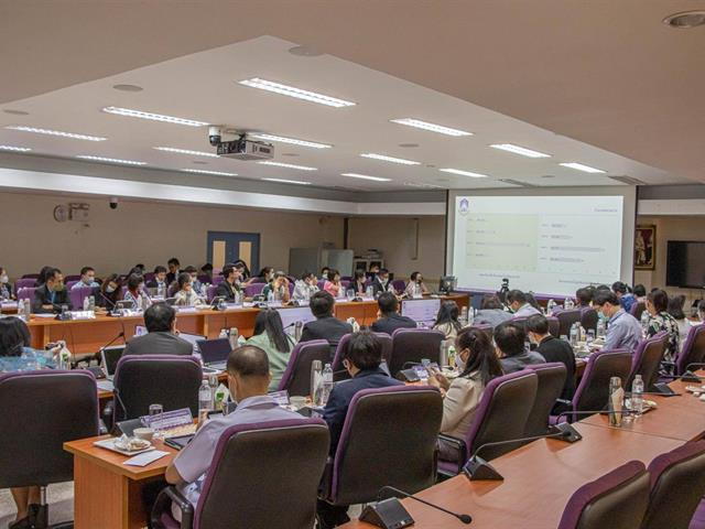ประชุมคณะกรรมการการดำเนินงานกำกับและติดตาม ด้านคุณธรรมและความโปร่งใสของมหาวิทยาลัยพะเยา