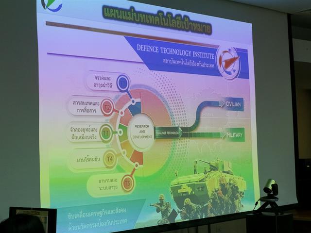 อธิการบดีมหาวิทยาลัยพะเยา ต้อนรับผู้อำนวยการสถาบันเทคโนโลยีป้องกันประเทศและคณะ พร้อมหารือแนวทางMOU ความร่วมมือระหว่างหน่วยงาน ในด้านวิชาการ การวิจัย และพัฒนาวิทยาศาสตร์ และเทคโนโลยีป้องกันประเทศ