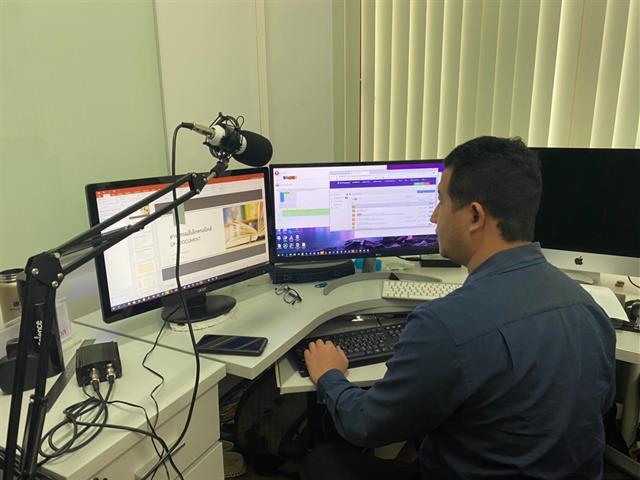 กองกลาง มหาวิทยาลัยพะเยา จัดโครงการ Smart System อบรมบุคลากรเรียนรู้ระบบสารบรรณอิเล็กทรอนิกส์ ผ่านระบบ Microsoft Team