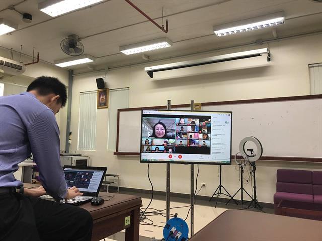 กายภาพบำบัด, ปฐมนิเทศ, สหเวชศาสตร์, Google Meet