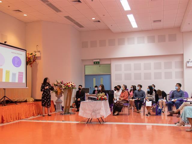 คณะศิลปศาสตร์จัดโครงการ ประชุมบุคลากรคณะศิลปศาสตร์ ครั้งที่ 3/2563 พร้อมเชิญชวนและแนะแนวทางการเรียนการสอนออนไลน์