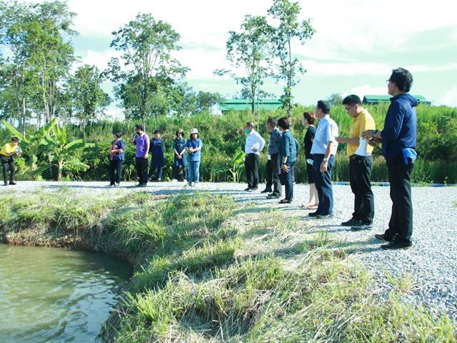 คณะเกษตรศาสตร์และทรัพยากรธรรมชาติ ม.พะเยา ต้อนรับคณะกรรมการส่งเสริมกิจการมหาวิทยาลัยพะเยา