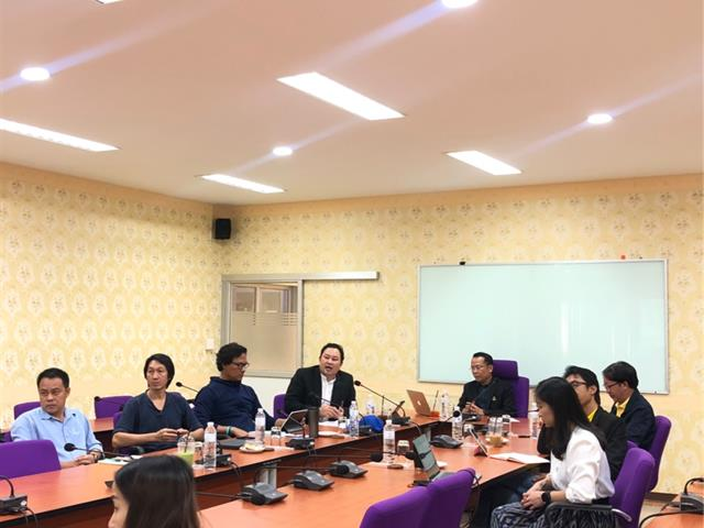 """มหาวิทยาลัยพะเยา และมหาวิทยาลัยเทคโนโลยีราชมงคลล้านา พื้นที่น่าน  เข้าร่วมเวทีพิจารณาข้อเสนอชุดโครงการวิจัยโดยละเอียด ภายใต้แผนงานริเริ่มสำคัญ (Flagship) ปีงบประมาณ 2563 ในกรอบ """"มหาวิทยาลัยเพื่อการพัฒนาพื้นที่ กรอบการวิจัย Demand-Supply Matching Platform"""""""