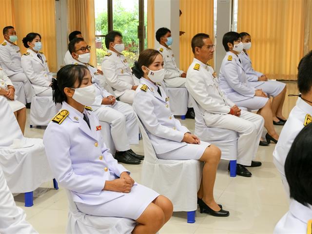 มหาวิทยาลัยพะเยา ร่วมพิธีเฉลิมพระเกียรติพระบาทสมเด็จพระเจ้าอยู่หัว เนื่องในโอกาสวันเฉลิมพระชนมพรรษา 28 กรกฎาคม 2563