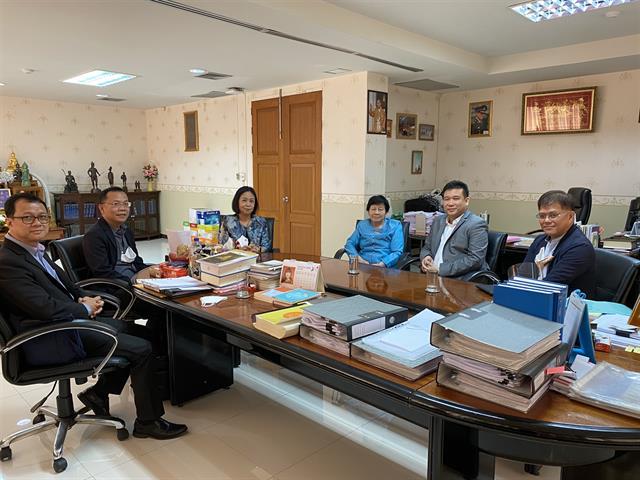 อธิการบดีมหาวิทยาลัยพะเยา เข้าพบอธิการบดีมหาวิทยาลัยนเรศวร เพื่อหารือการจัดการเรียนการสอนในสถานการณ์ปัจจุบัน
