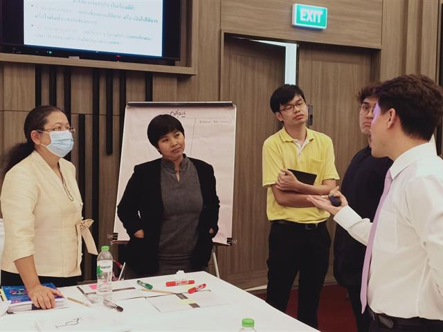 ผู้บริหารและบุคลากรคณะนิติศาสตร์เข้าร่วมโครงการพัฒนาองค์กรตามแนวทาง EdPEx