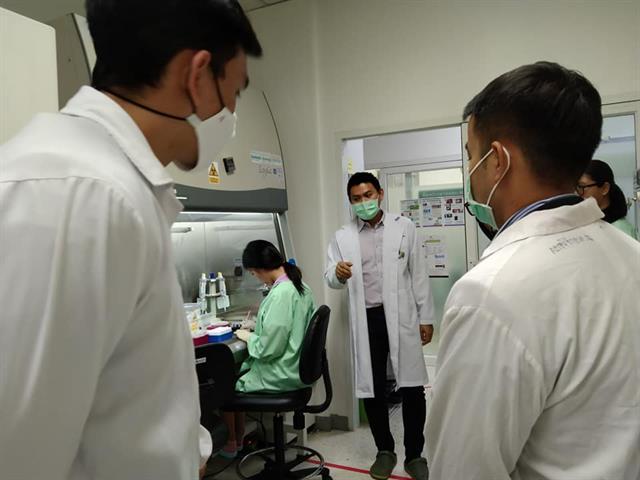 คณะกรรมการยกร่างหลักสูตรเทคนิคการแพทย์ ปีการศึกษา 2565 เข้าศึกษาดูงานร่วมกับสถาบันผลิตบัณฑิต เพื่อเป็นแนวทางพัฒนาหลักสูตร
