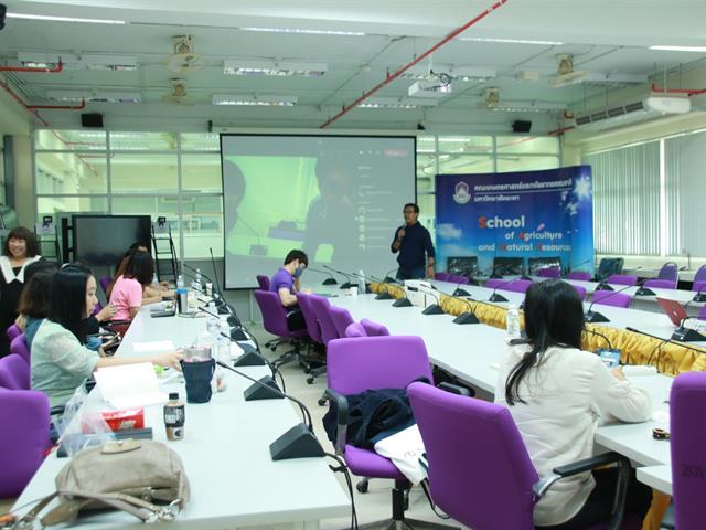 คณะเกษตรศาสตร์และทรัพยากรธรรมชาติ มหาวิทยาลัยพะเยา จัดการประชุม KM เพื่อเตรียมความพร้อมปรับปรุงหลักสูตรของคณะฯ