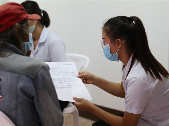 สาขาวิชาเทคนิคการแพทย์ คณะสหเวชศาสตร์ จัดกิจกรรมแปลผลการตรวจทางห้องปฏิบัติการร่วมกับการให้ความรู้สุขภาพแก่ชุมชนบ้านแม่กาหลวง
