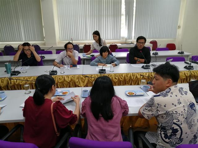 คณะเกษตรศาสตร์ฯ ร่วมกับคณะวิทยาศาสตร์ ประชุมหารือการจัดการเรียนการสอนหลักสูตรปริญญาตรี 2 ปริญญา
