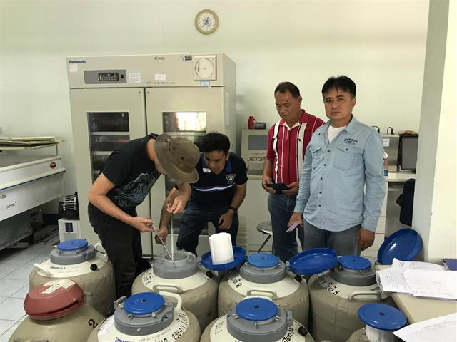 คณะเกษตรศาสตร์ฯ เข้าศึกษาดูงานศูนย์ผลิตน้ำเชื่อพ่อโคพันธุ์ โครงการหลวงอินทนนท์