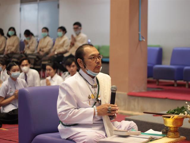 คณะแพทยศาสตร์ สาขาวิชาการแพทย์แผนไทยประยุกต์ จัดพิธีไหว้ครูแผนไทย บรมครูชีวกโกมารภัจจ์