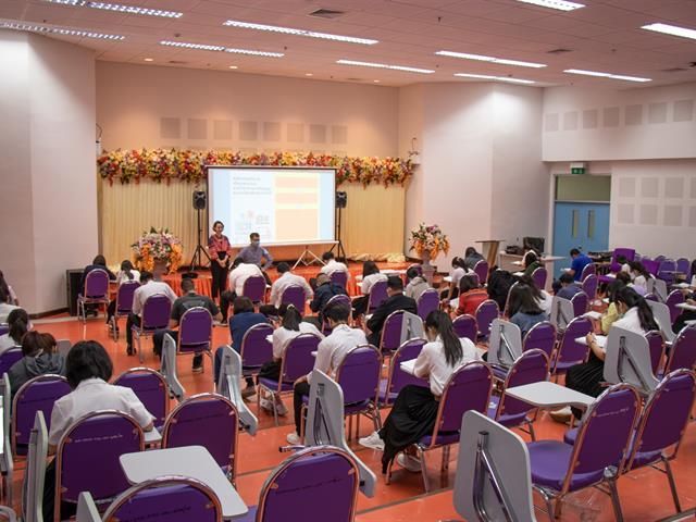 คณะศิลปศาสตร์ จัดการทดสอบวัดความรู้ภาษาอังกฤษ เพื่อประกอบการสำเร็จการศึกษา ระดับปริญญาตรี