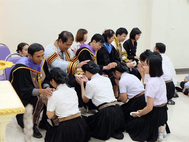 สาขาวิชาการส่งเสริมสุข คณะแพทยศาสตร์ ได้จัดโครงการทำนุบำรุงศิลปวัฒนธรรมสาขาวิชาการส่งเสริมสุขภาพ ประจำปีการศึกษา 2563