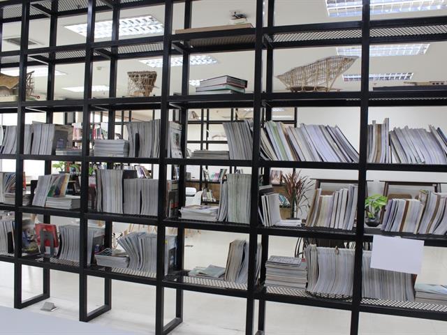 เยี่ยมชมคณะสถาปัตยกรรมศาสตร์และศิลปกรรมศาสตร์