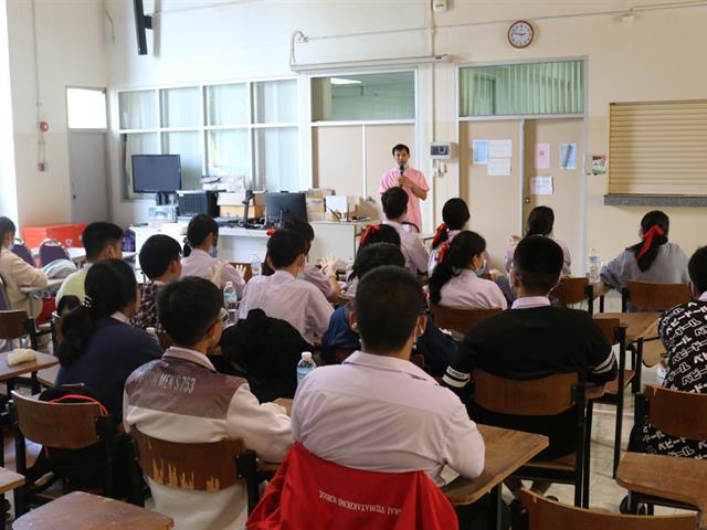 นักเรียนโรงเรียนเชียงรายวิทยาคมเข้าร่วมกิจกรรมค่ายปฏิบัติการทางด้านวิทยาศาสตร์การแพทย์