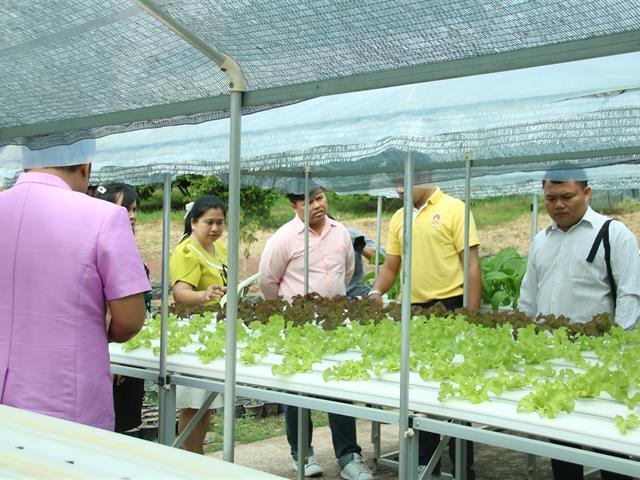 คณะเกษตรศาสตร์ฯ ต้อนรับคณะศึกงานดูงานจากโรงเรียนผดุงราษฎร์ จ.พิษณุโลก