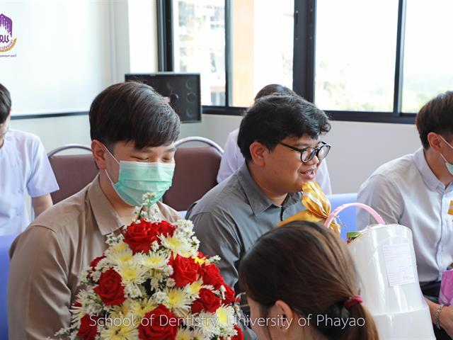 สโมสรนิสิตคณะทันตแพทยศาสตร์ มหาวิทยาลัยพะเยา ได้จัดพิธีไหว้ครู ประจำปีการศึกษา 2563