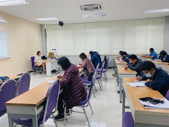 โครงการจัดติวและทดสอบวัดความรู้ภาษาอังกฤษ สำหรับนิสิตปริญญาตรี โครงการพิเศษ มหาวิทยาลัยพะเยา วิทยาเขตเชียงราย