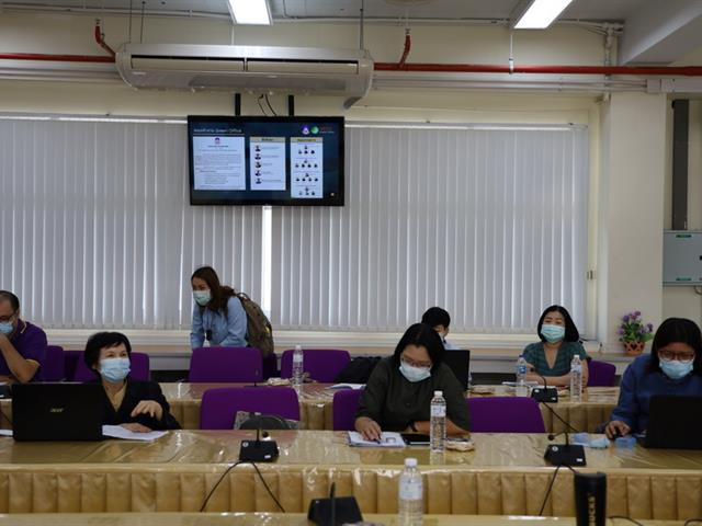 Nurse UP Green Office  กิจกรรมที่1การเตรียมความพร้อมในการประเมินสำนักงานที่เป็นมิตรกับสิ่งแวดล้อม