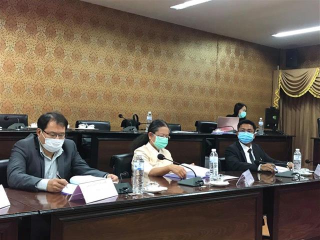 คณาจารย์คณะนิติศาสตร์เข้าร่วมประชุมพัฒนาความร่วมมือเครือข่ายด้านการส่งเสริมสิทธิมนุษยชนในภูมิภาค ณ มหาวิทยาลัยพะเยา ครั้งที่ 1/2564